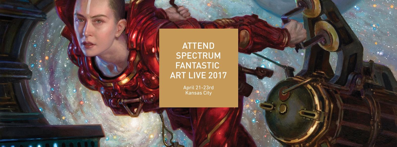 Spectrum Fantastic Art Live 2017: Goin' to Kansas City