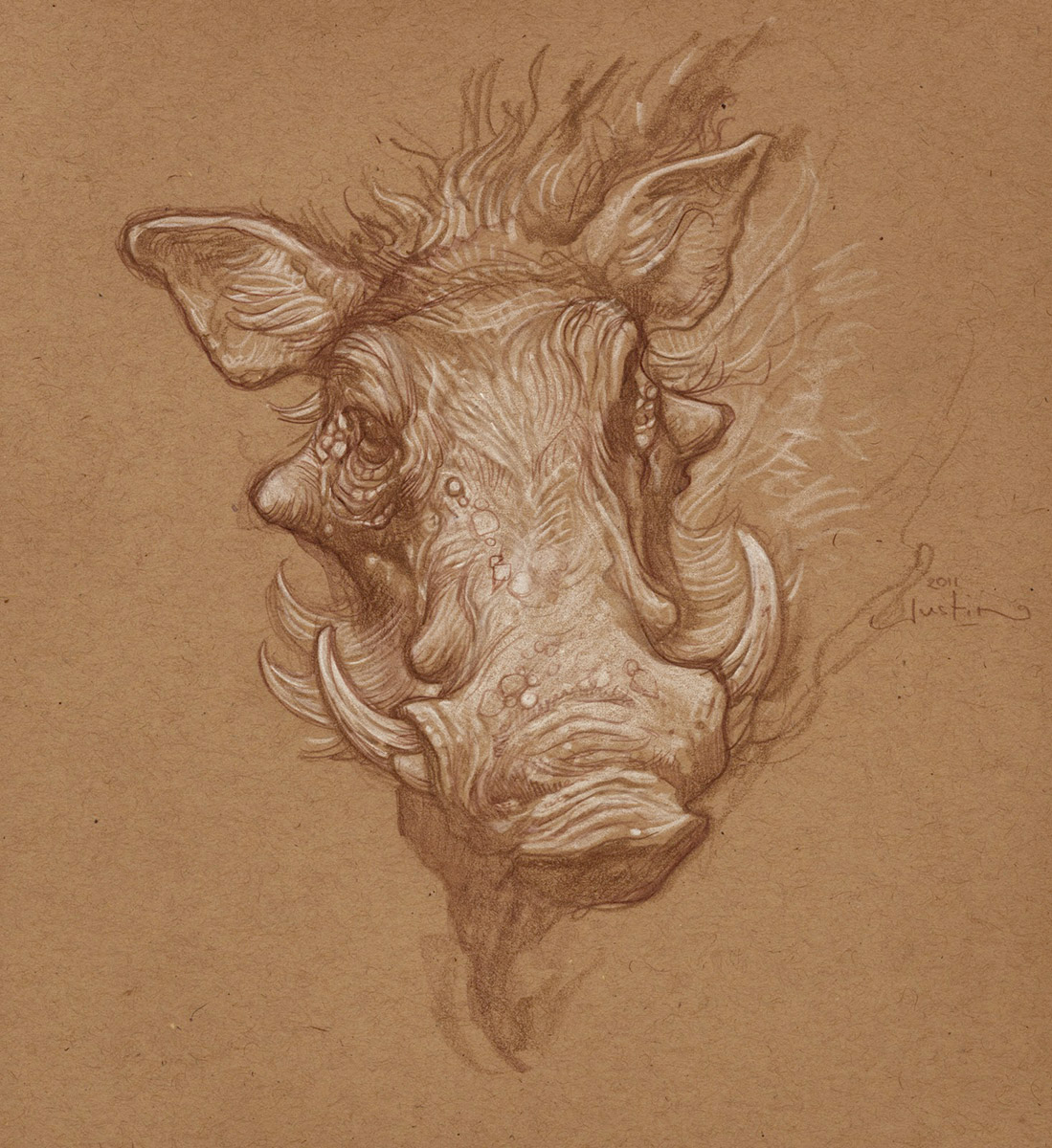 Let's Draw Warthogs