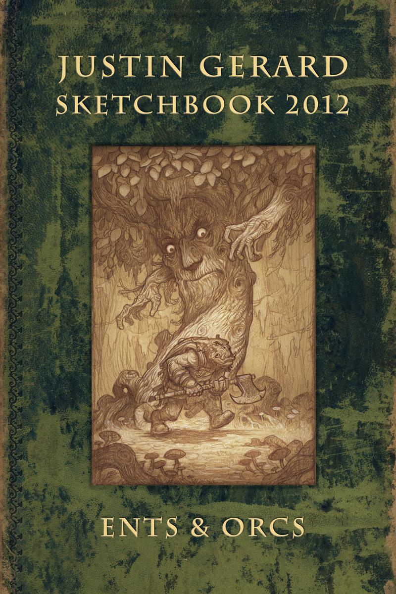 Sketchbook 2012: Ents & Orcs