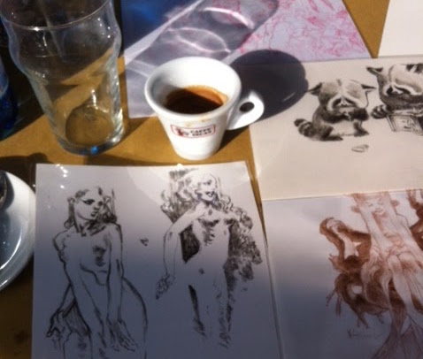 In Lucca with Claire Wendling