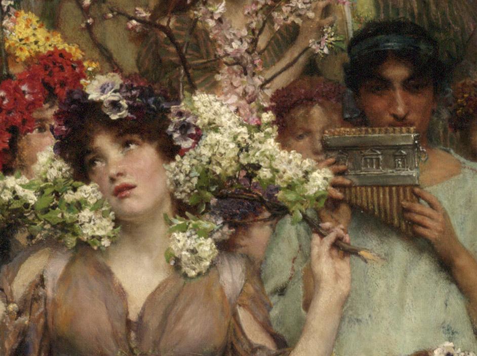 Spring – Lawrence Alma-Tadema
