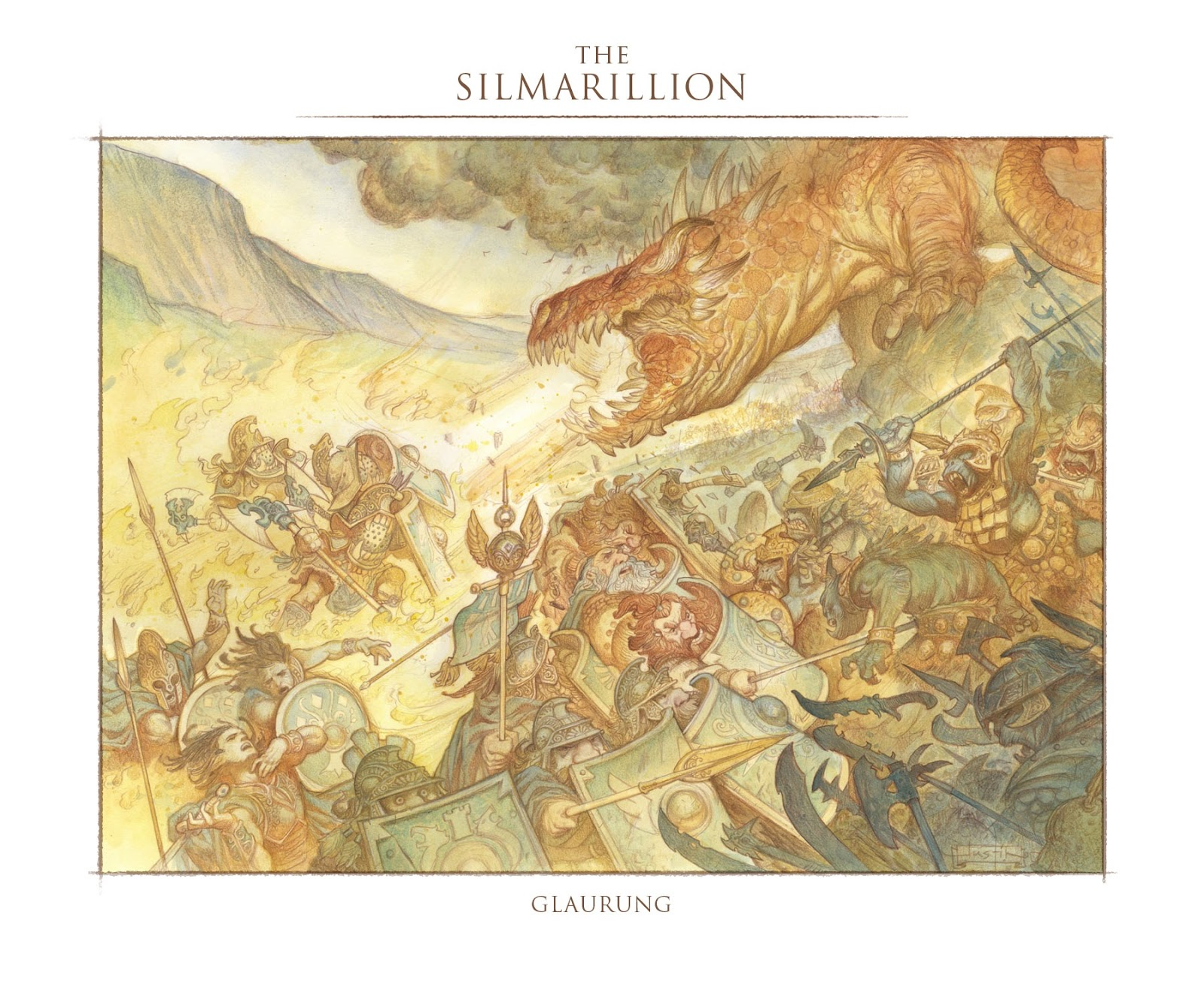 The Silmarillion: Glaurung Final