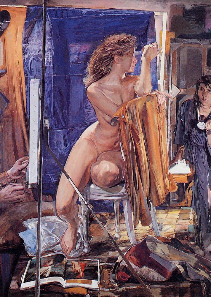 Jerome Witkin Life Drawing