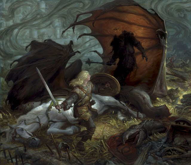 Eowyn and the Nazgul… Updates