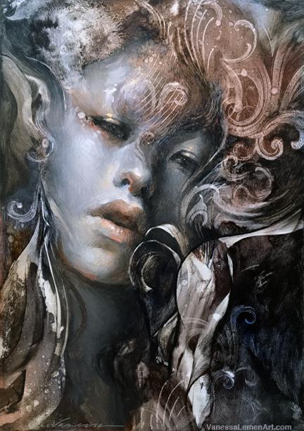 Painting Progression – Yuki