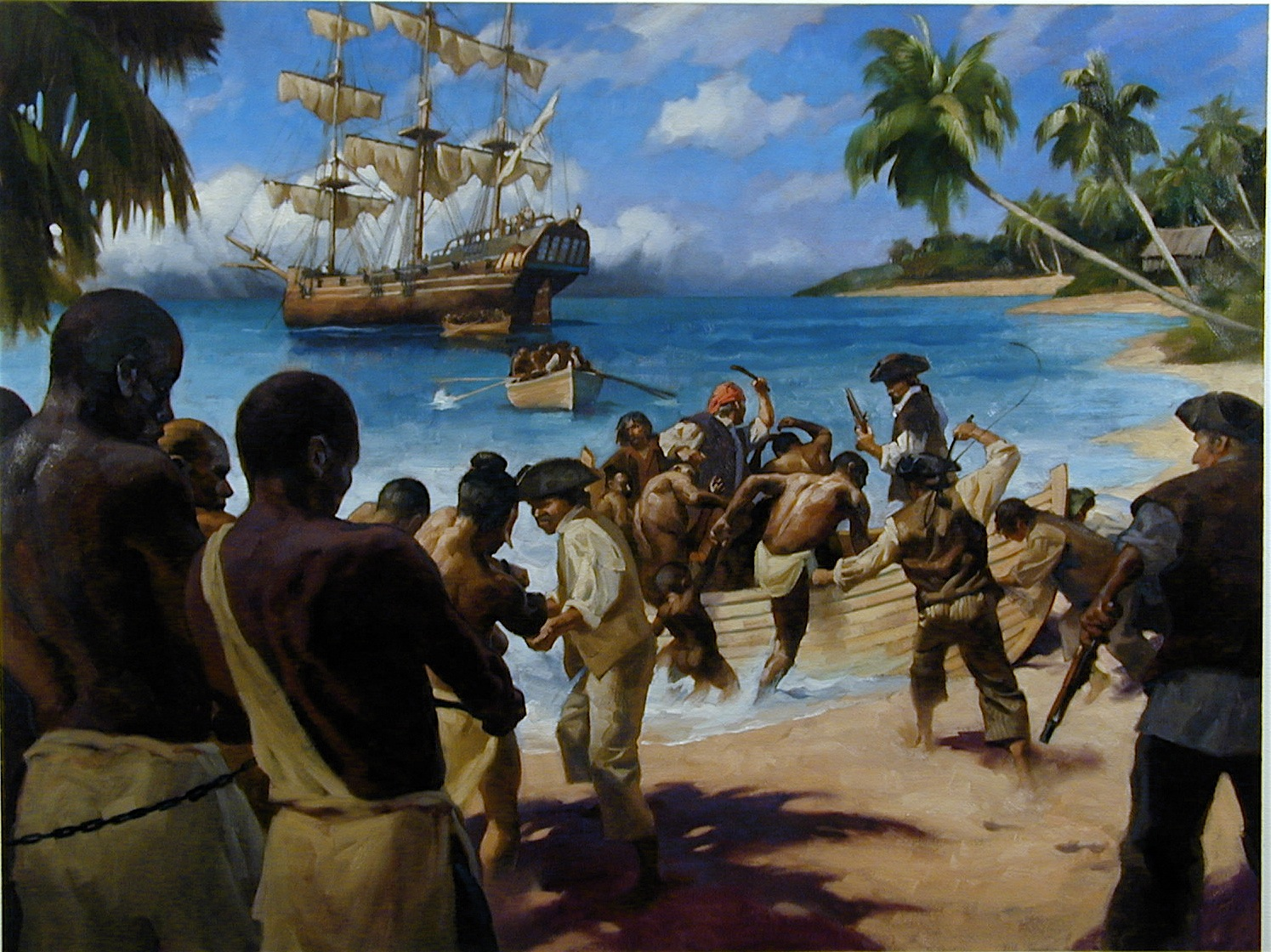 Pirate Paintings for National Geographic Pt.5