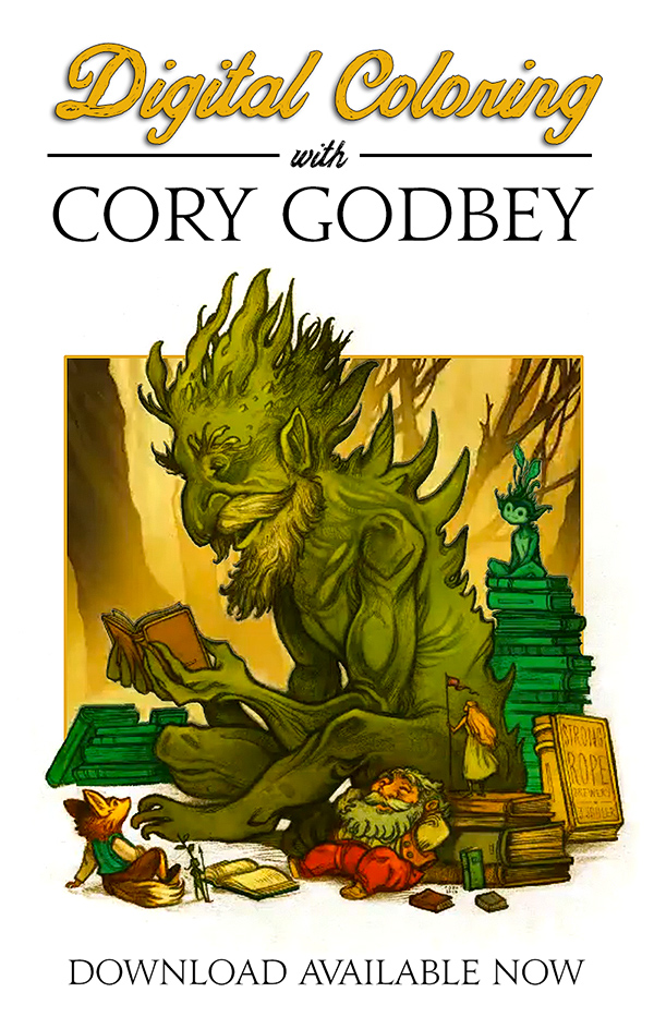 Digital Coloring with Cory Godbey
