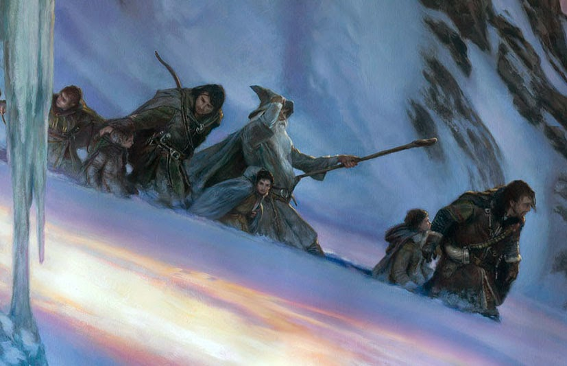 The Fellowship of the Ring – Descent from Caradhras