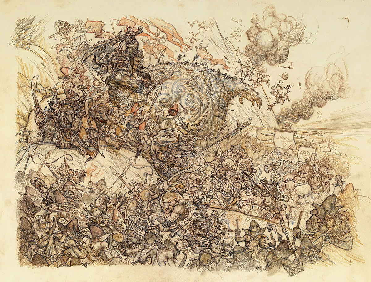 Battle of Five Armies: Tight Drawing