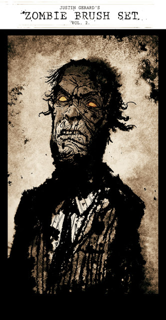 Zombie Brushes for Photoshop