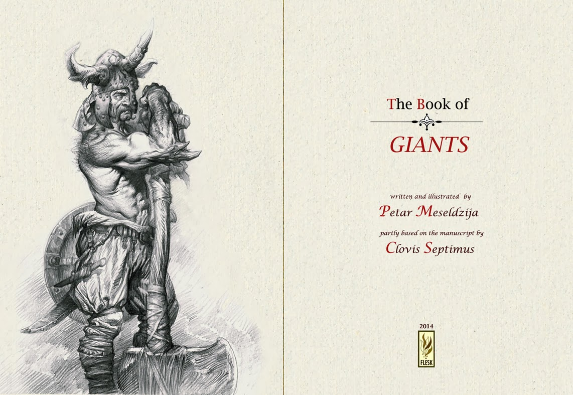 Announcing the publisher of The Book of Giants