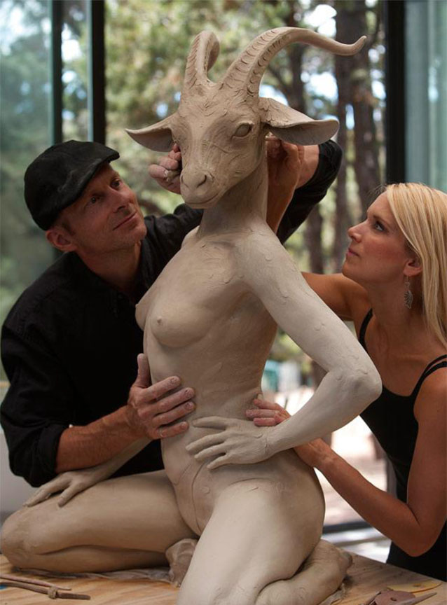 A Sculptor's Secret World, Part 7: Kristine & Colin Poole
