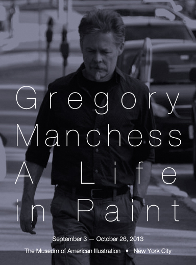 Greg Manchess Show at the Society of Illustrators