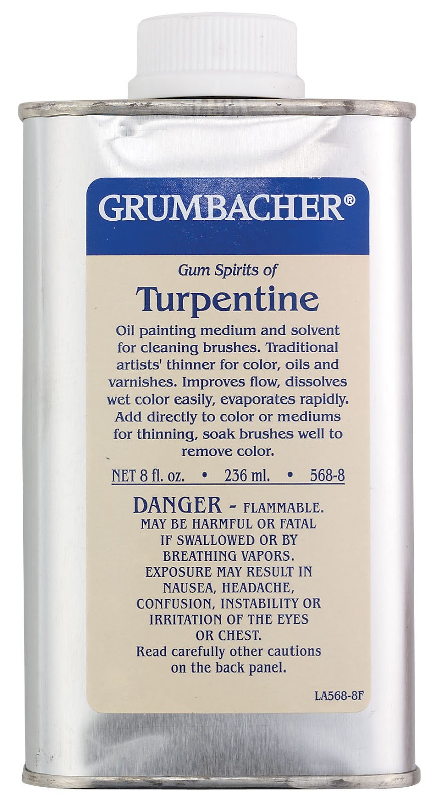 Studio Safety Pt. 2 – The Facts About Turpentine