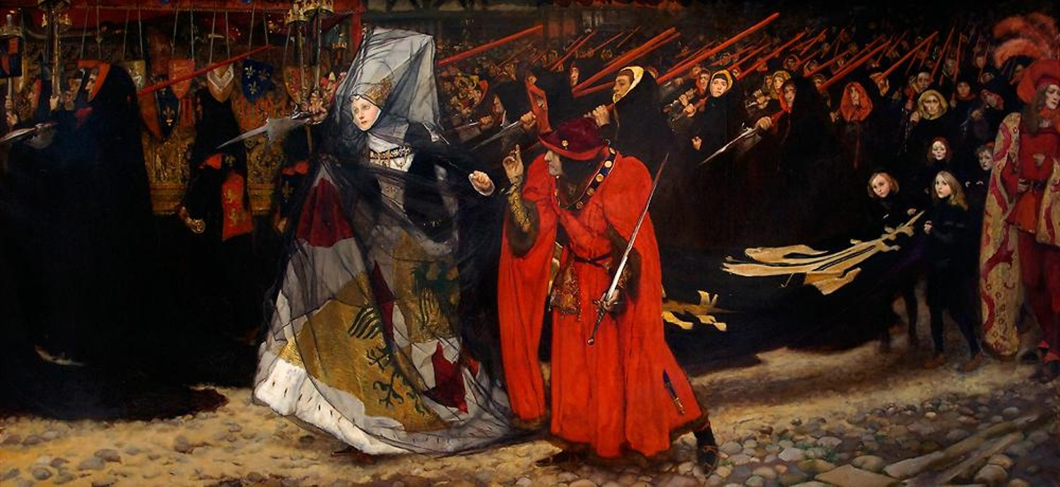 Artist of the Month: Edwin Austin Abbey
