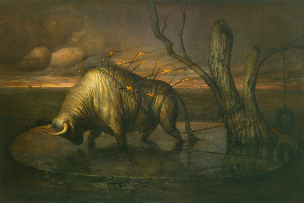 Martin Wittfooth… TONIGHT
