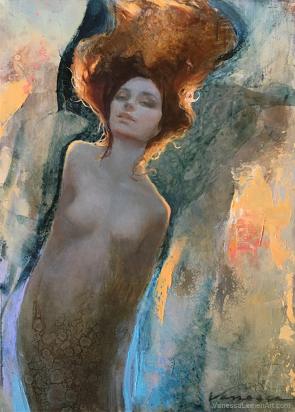 Painting Progression: Lady of Mermaid Inn