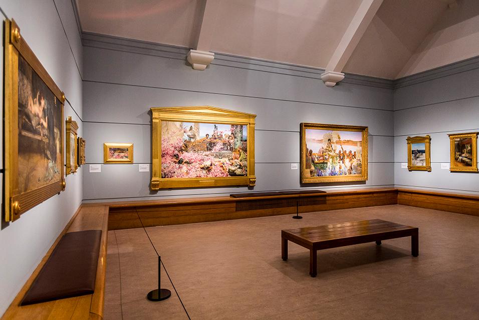 Alma-Tadema Exhibit