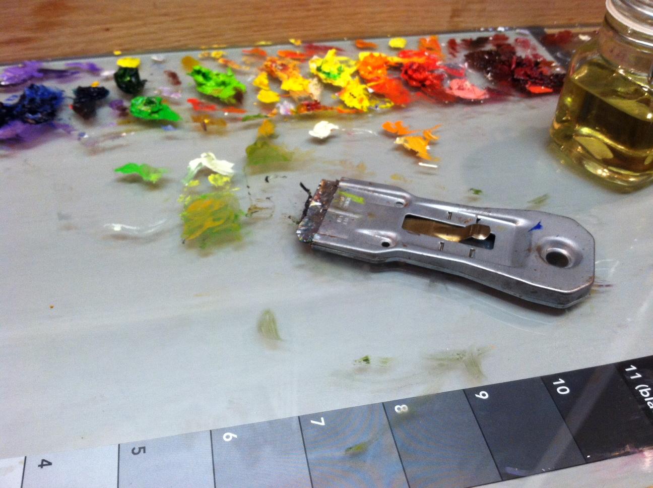 Studio Equipment: Glass