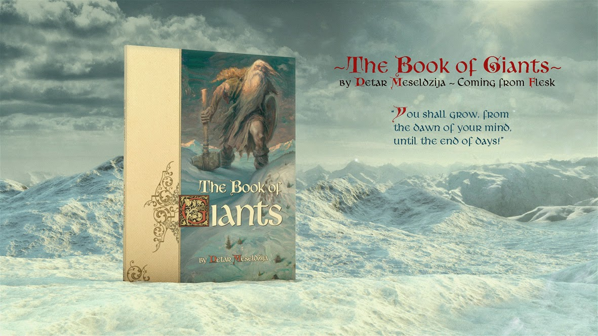 The Book of Giants Kickstarter campaign