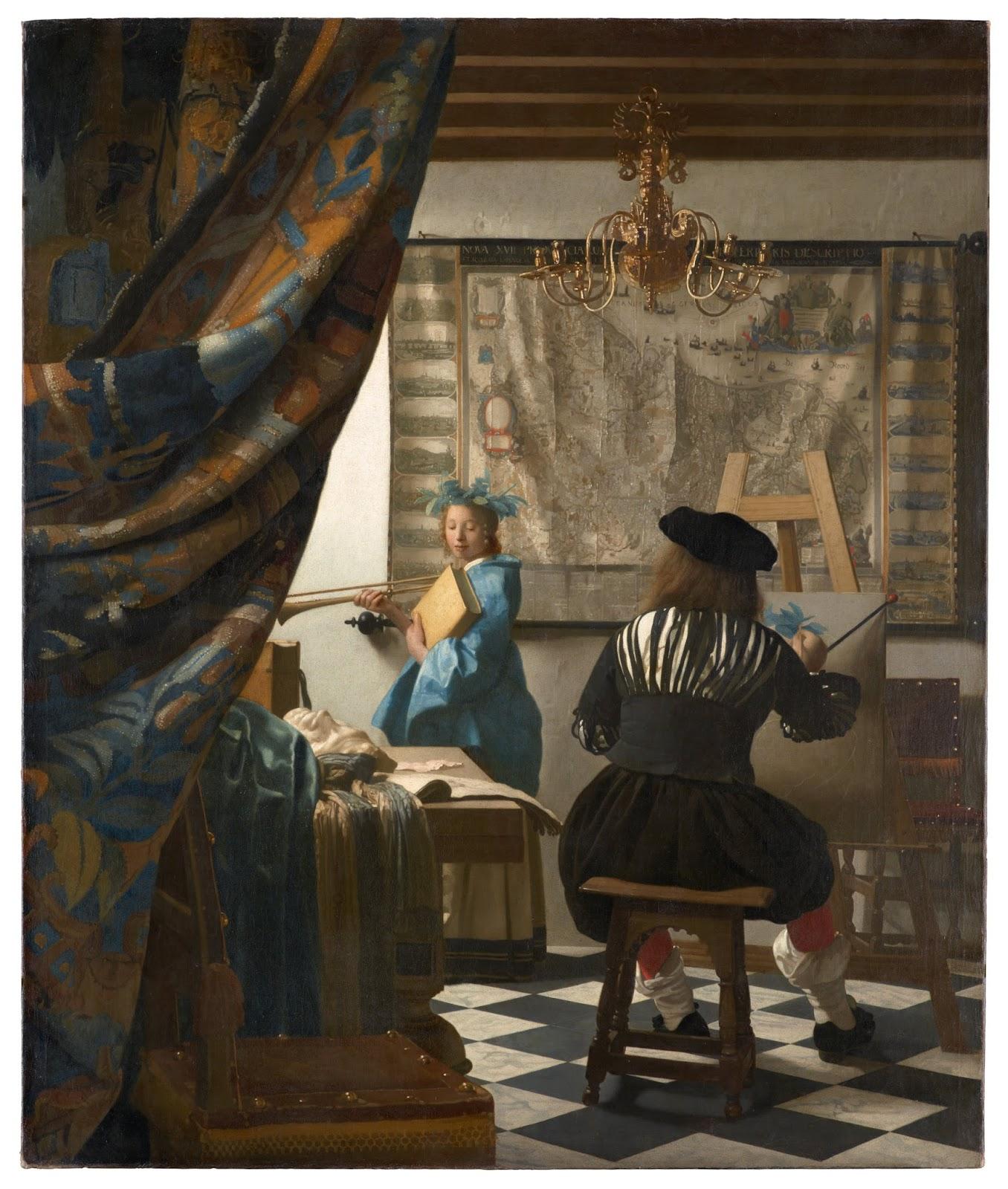 Artist of the Month: Vermeer