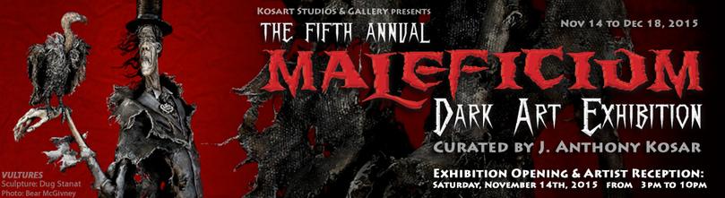 The Fifth Annual Maleficium Exhibition