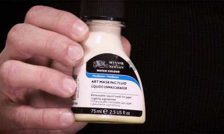 Art Tip of the Month #6: Masking Fluid