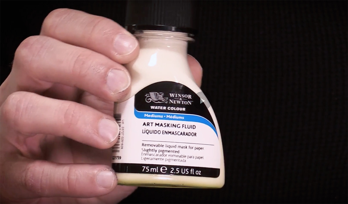 Art Tip of the Month #6: Masking Fluid