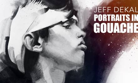 Portraits in Gouache with Jeff Dekal