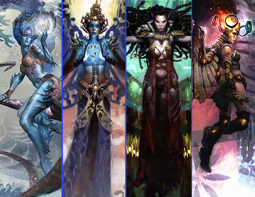 The magic of 'Magic: the  Gathering' (An artist's perspective.)