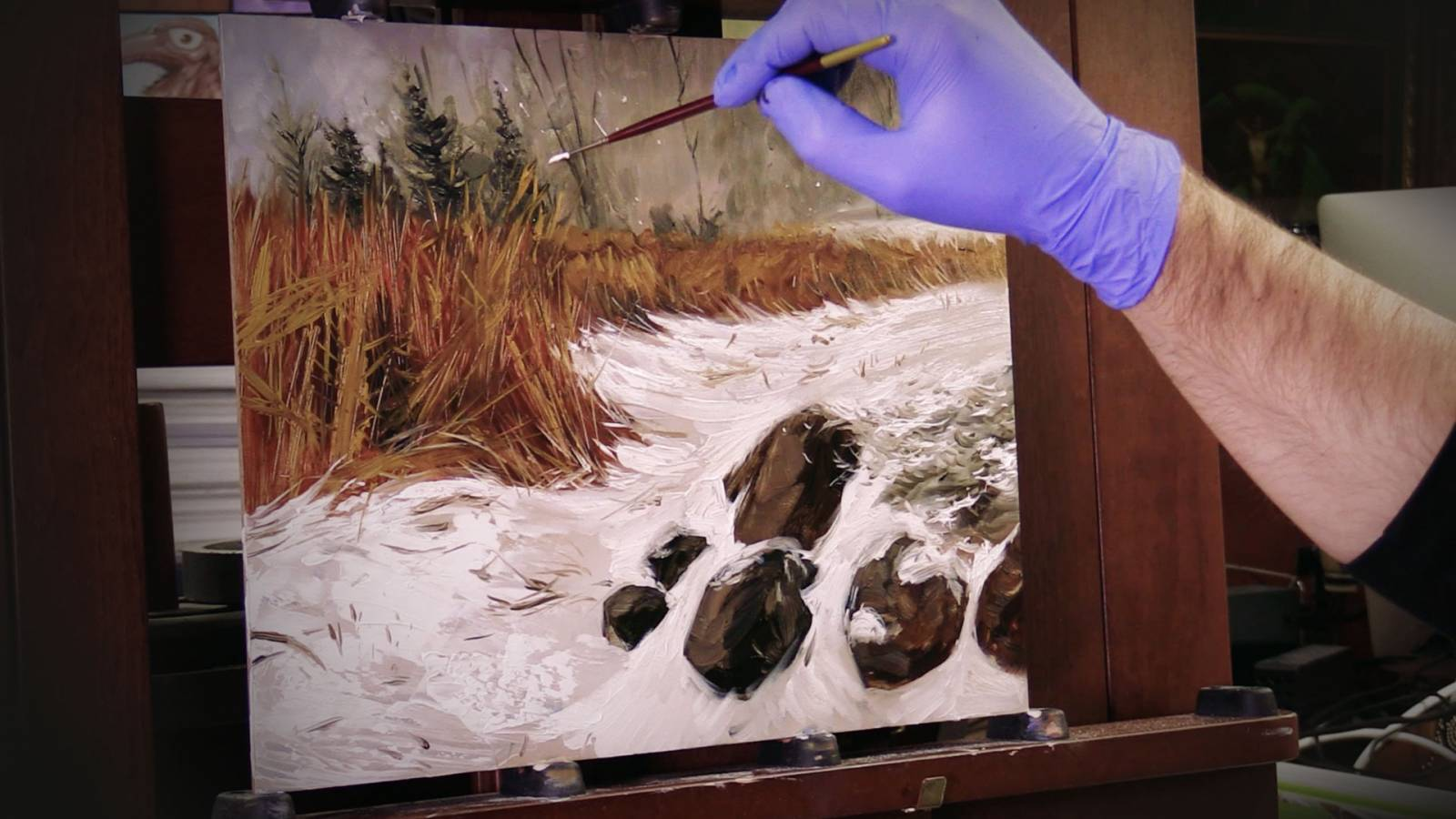 Art Tip of The Month #9: Painting a Snow Scene
