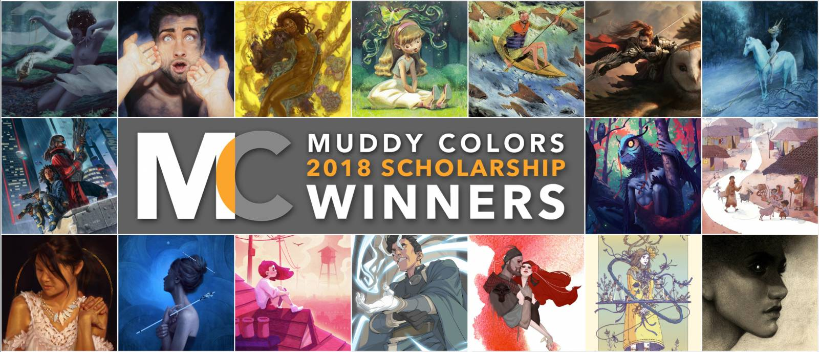 Muddy Colors 2018 IMC Scholarship Winners !!!