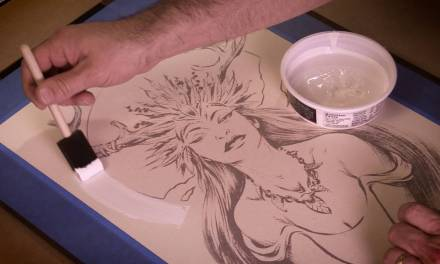 Art Tip of the Month #10: Retaining Texture in Gesso