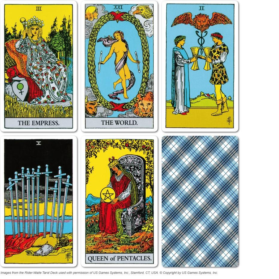 aa15acc41e9d1 What made the Rider-Waite Deck so popular was that every card in the deck  has a full scene illustration. Beyond that, Waite and Smith packed so much  ...