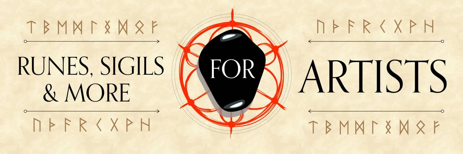 Magic for Artists Part 3: Runes, Sigils & More | Muddy Colors