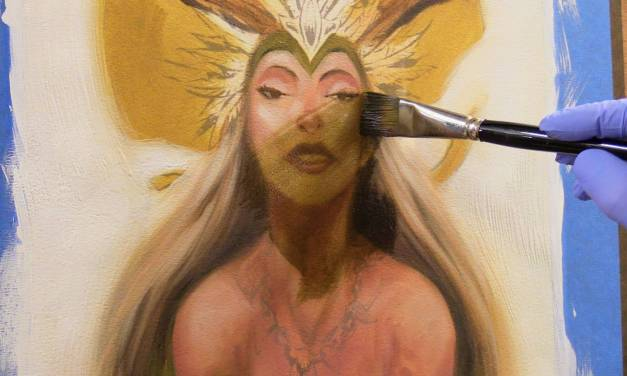 Art Tip of the Month #12: Glazing with Oils