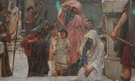 Saint Eulalia by John William Waterhouse