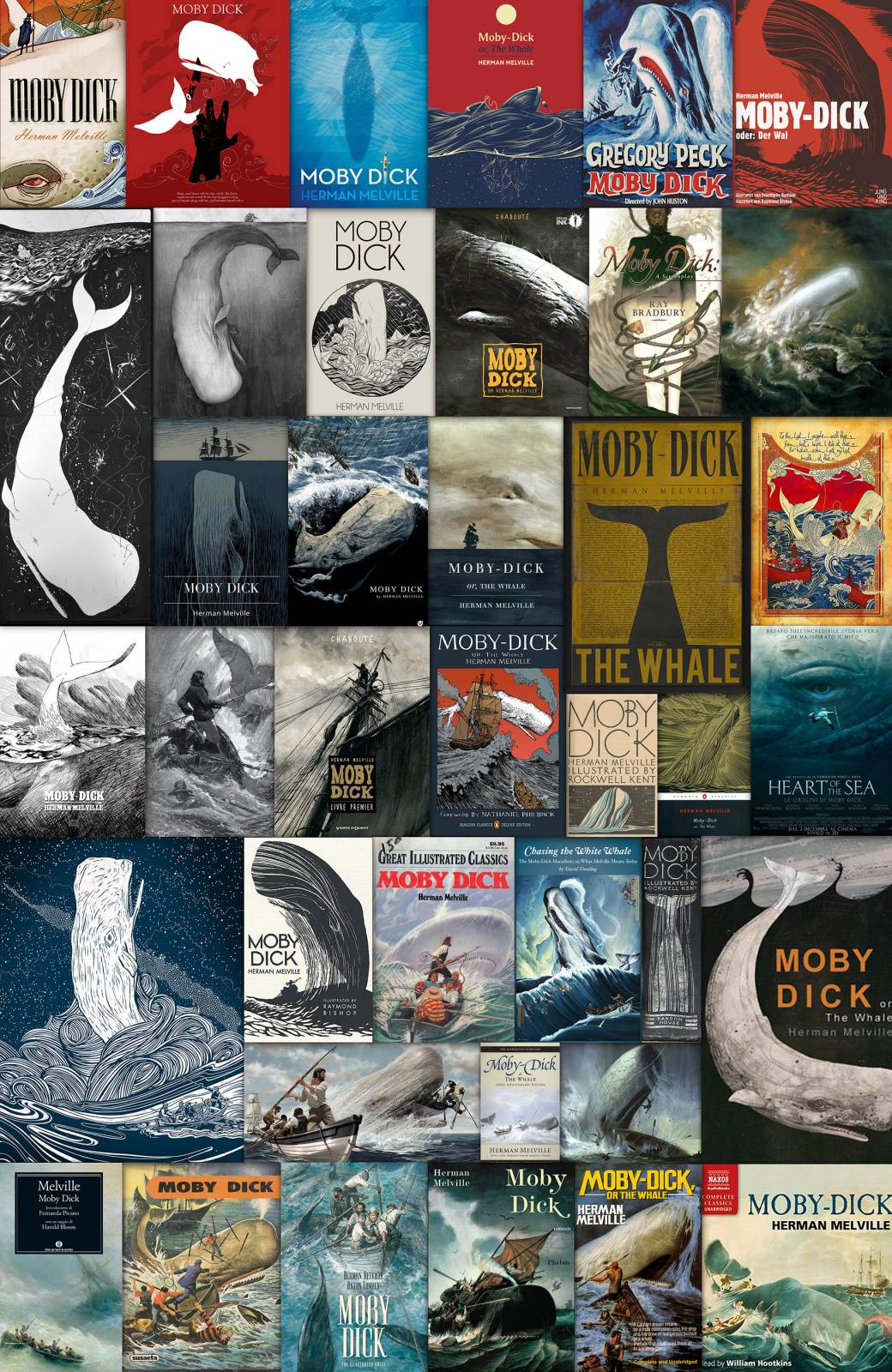 Moby Dick Covers