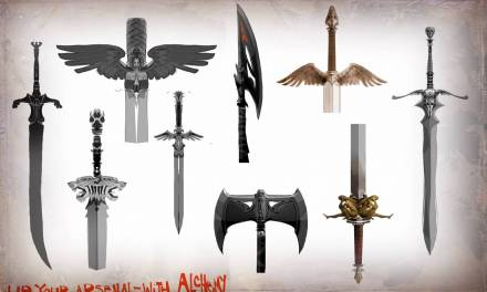 Just freakin' make it: Alchemy weapon demo