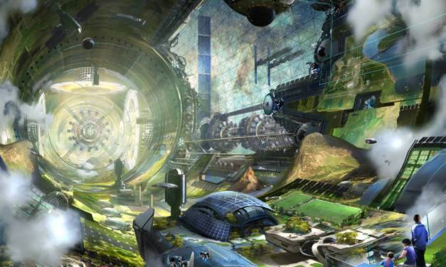 Visualizing Space Colonies of the Future