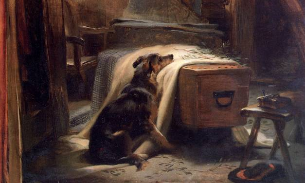 Victorian Dog Paintings