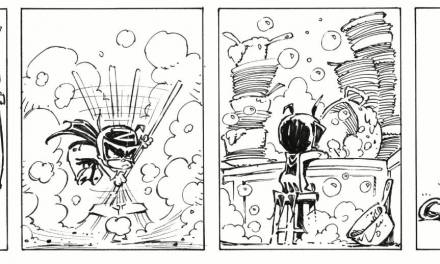 Old Forays in Comic Strips: Baby Superheroes