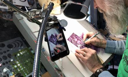 Studio Hacks- Monopod camera/phone holder