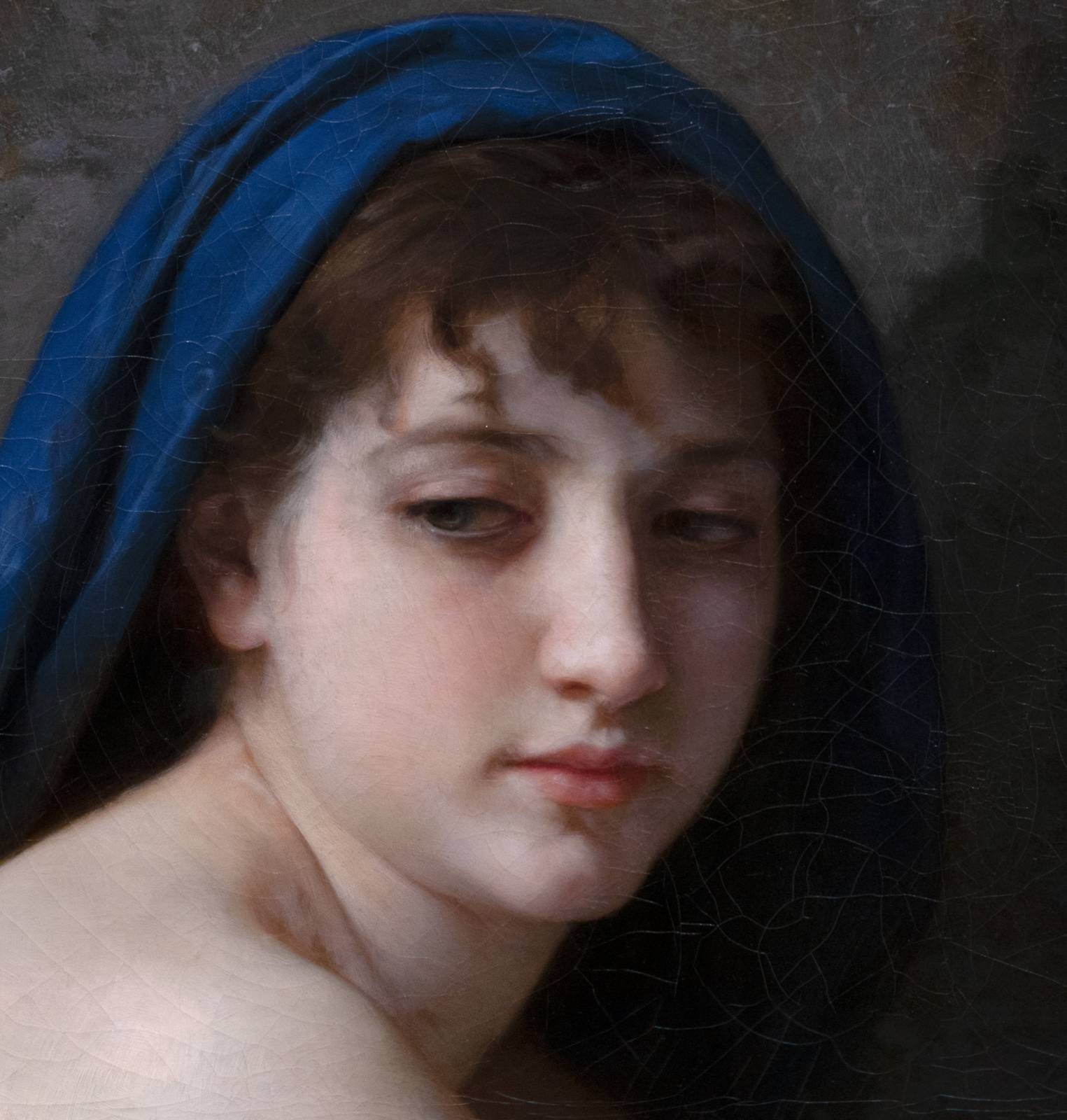 Bouguereau at the Clark – Seated Nude