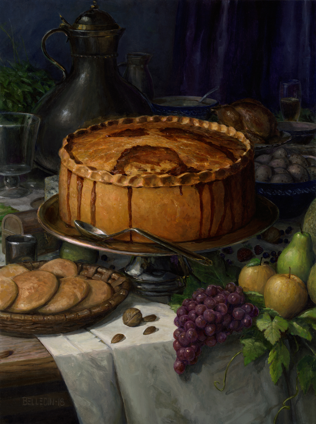 A Painting of Food