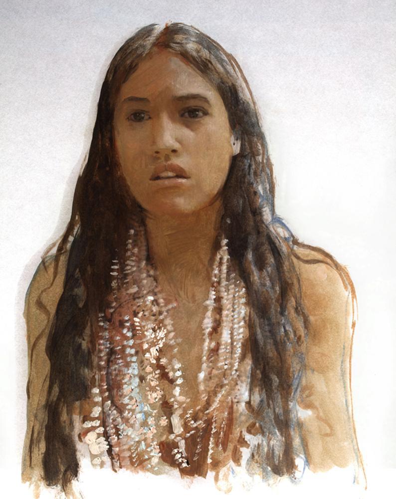 Robert Hunt_Pocahontas