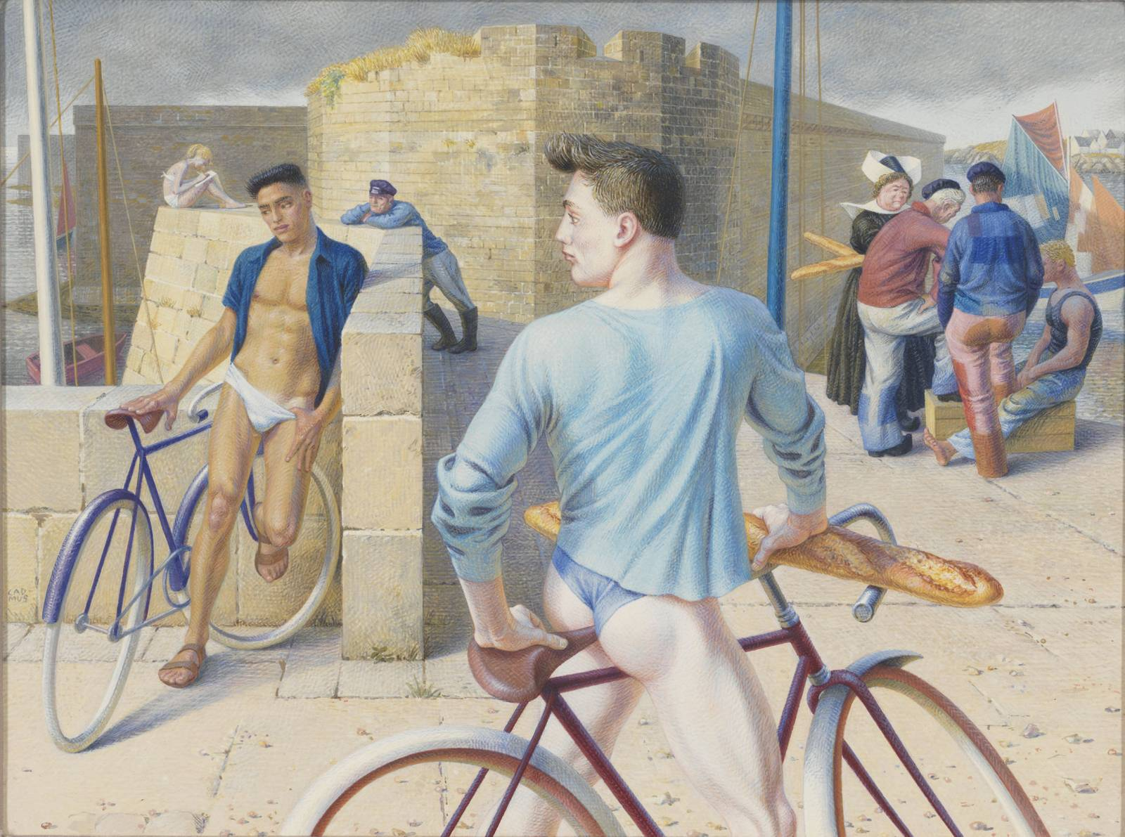 Paul Cadmus, Painting Gay Male Identity Into American Art