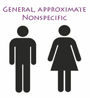 general, nonspecific
