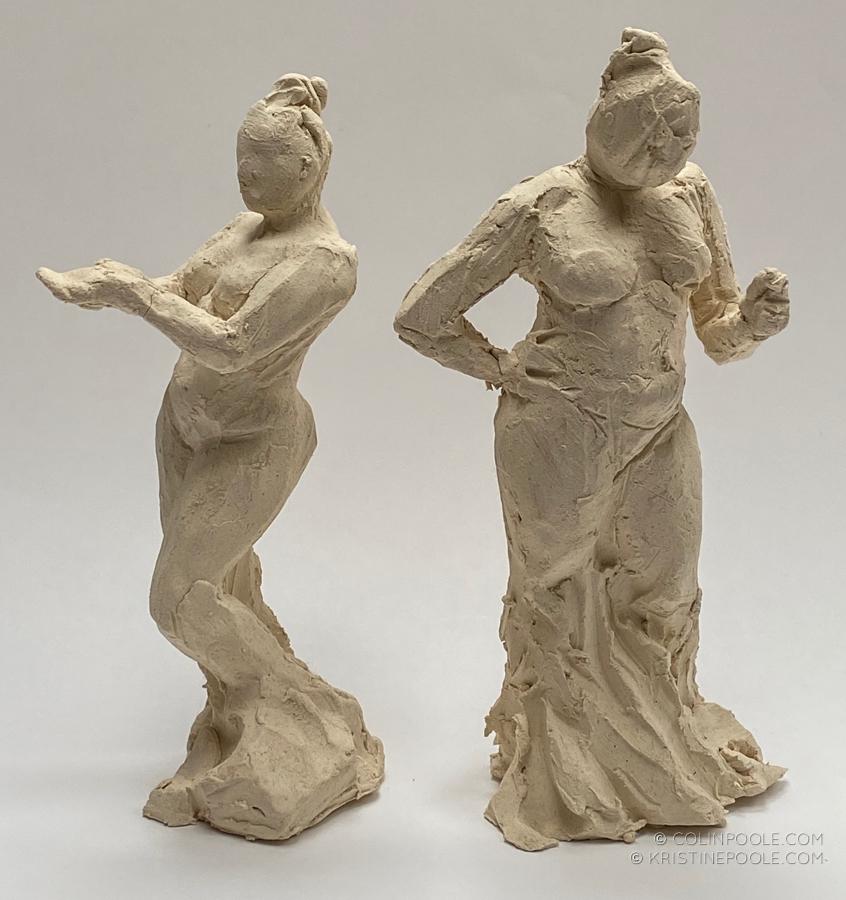 clay sketches