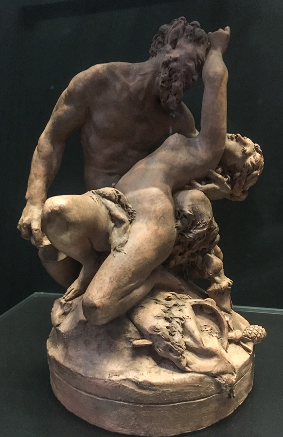 bozzetto satyr and nymph